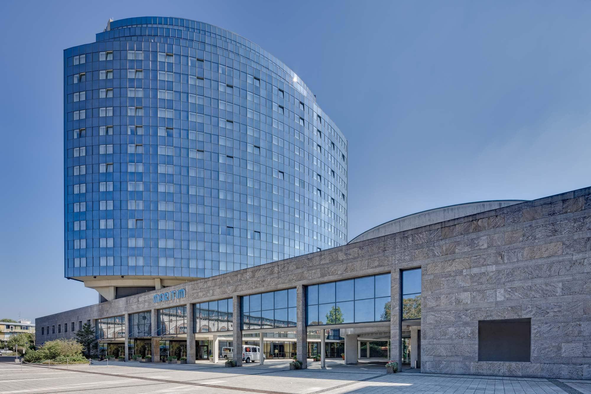 Architekturfoto vom Hotel Maritim in Ulm