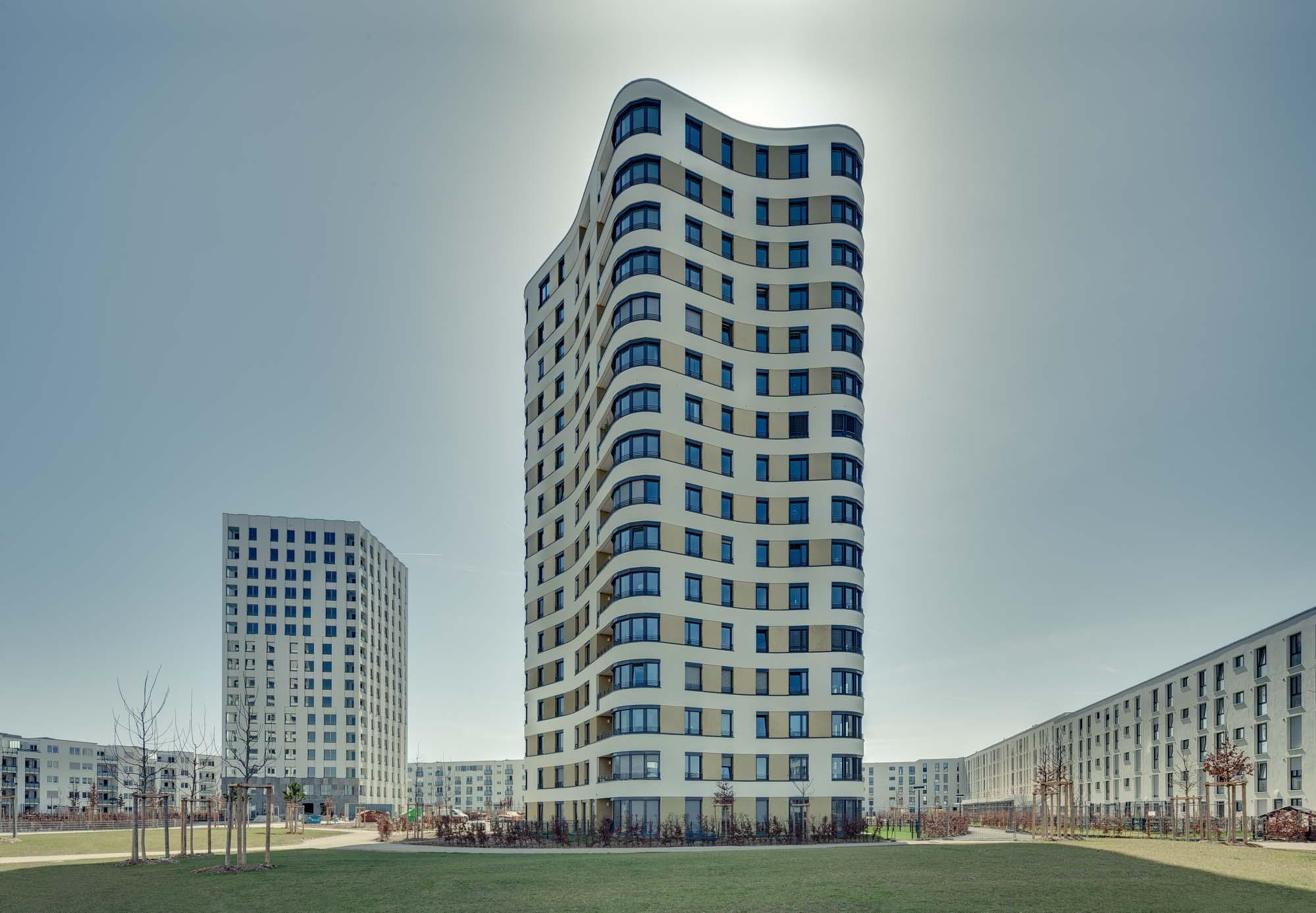 Architekturfotografie in München.