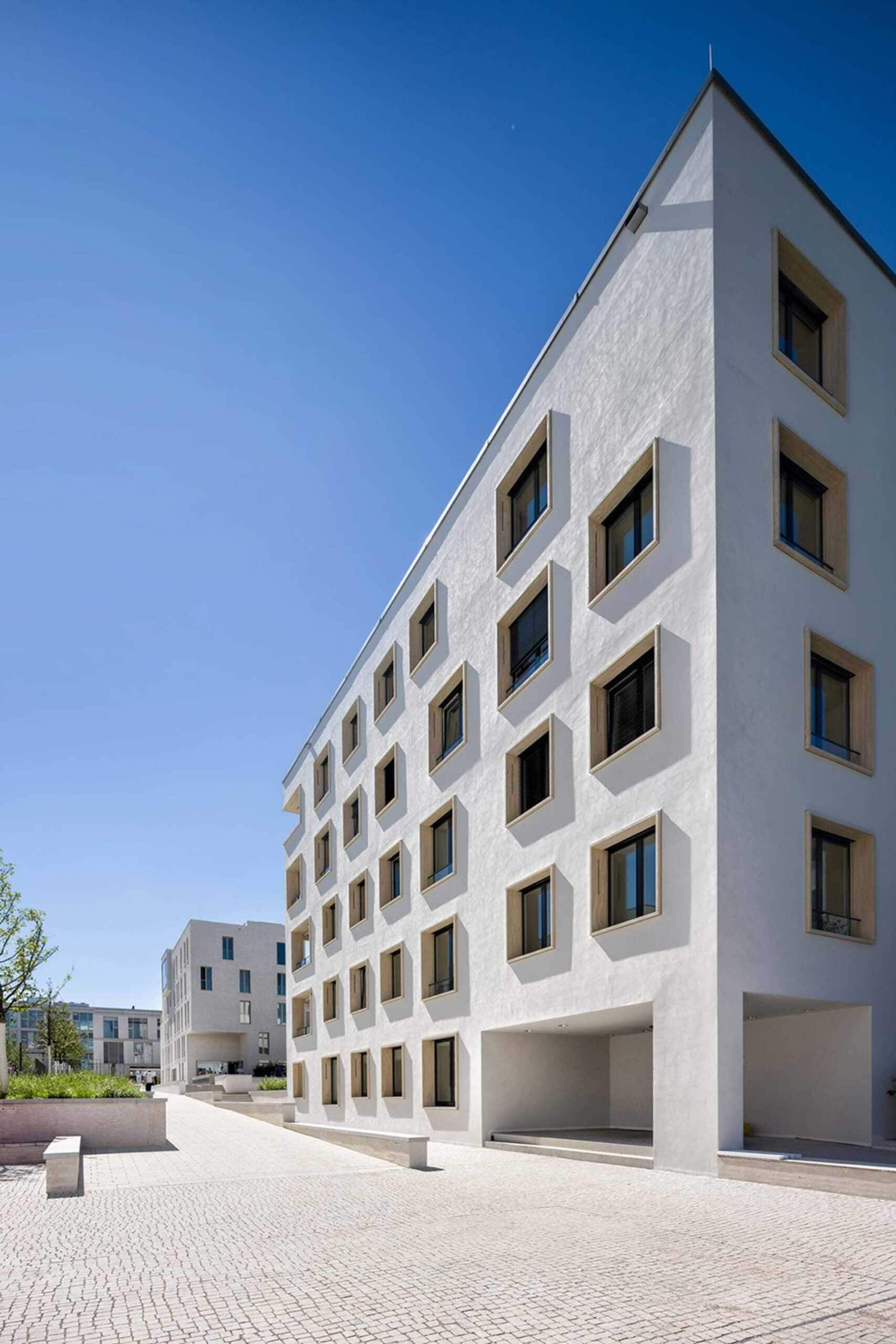 Architekturfotografie im stuttgarter Weissenhof