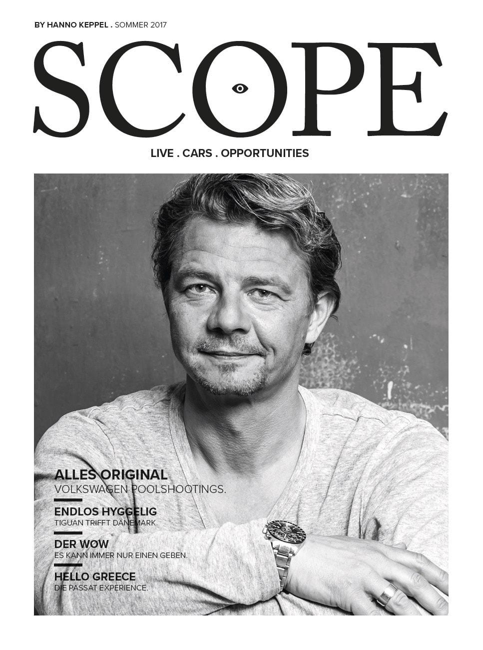das magazin scope wird vom brsunschweiger fotostudio in eigenregie erstellt und dient dem zweck kunden über aktuelle projekte auf dem laufenden zu halten.