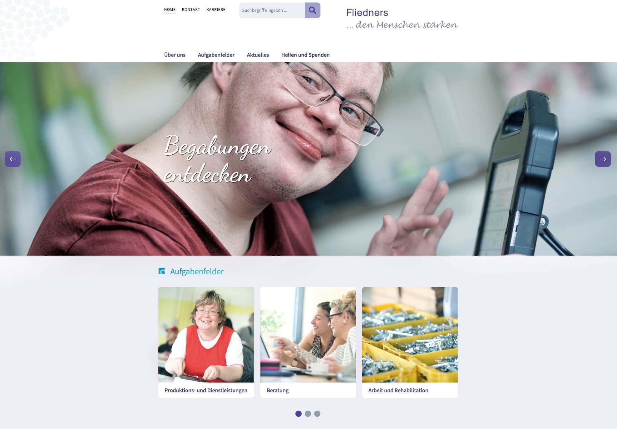 Portraits von Menschen mit Behinderungen - in Brandenburg