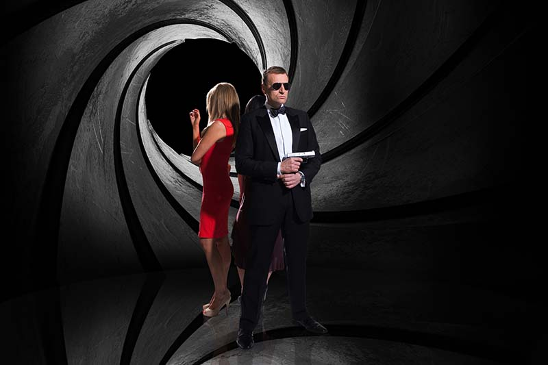 360grad fotografie von james bond double