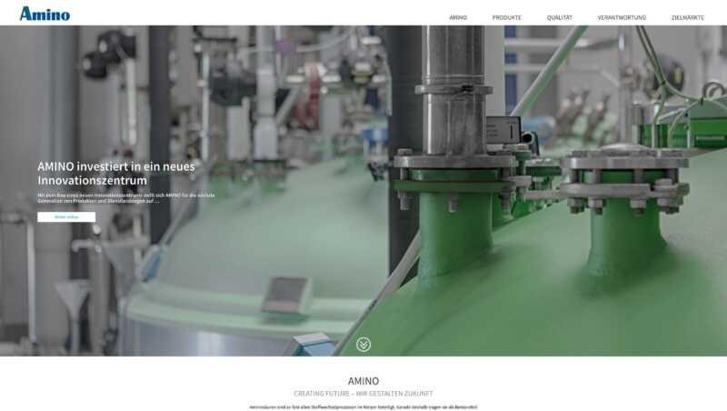 industrie fotografie für die amino gmbh
