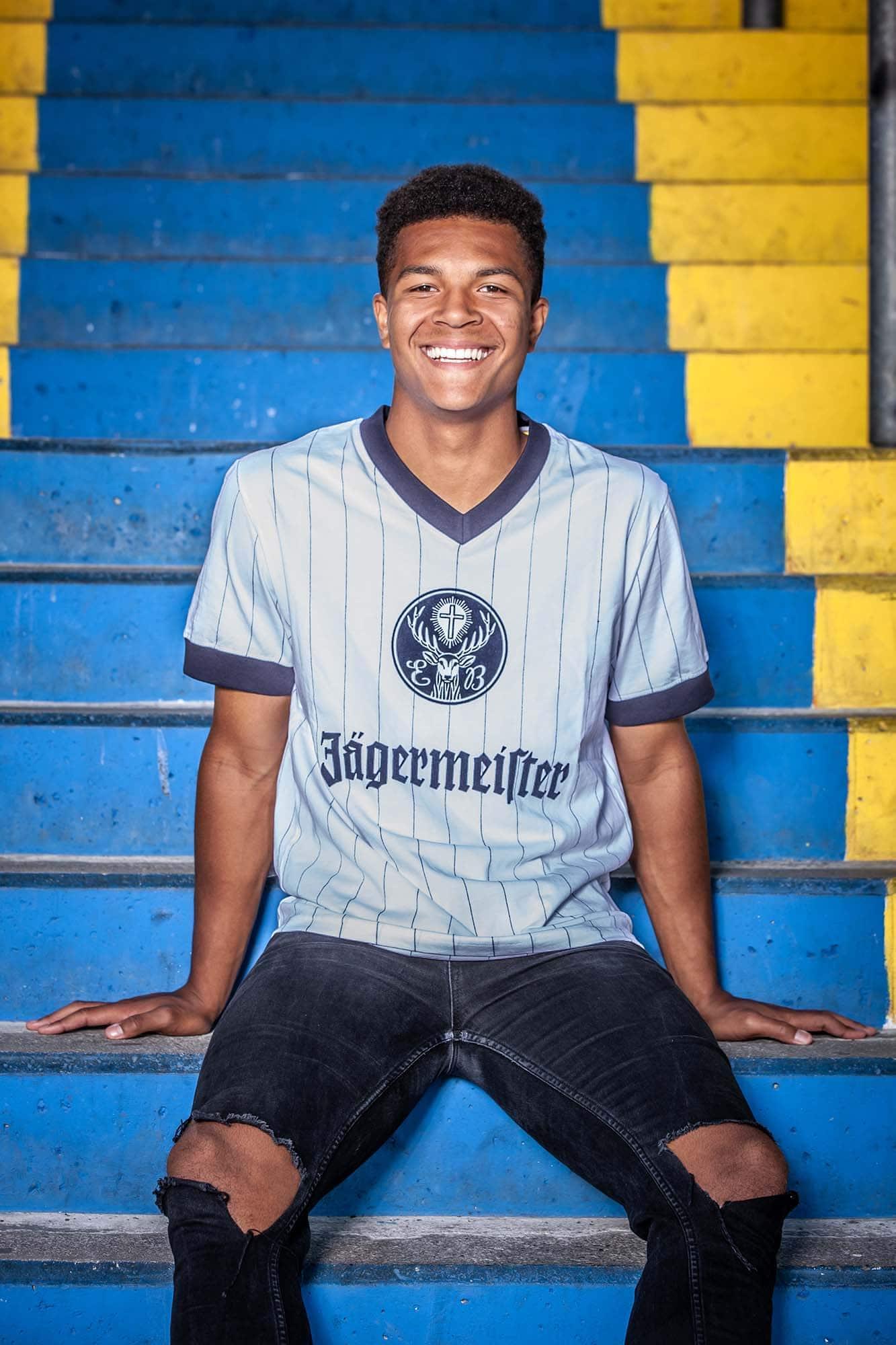 modefotografie mit fussballspielern in braunschweig