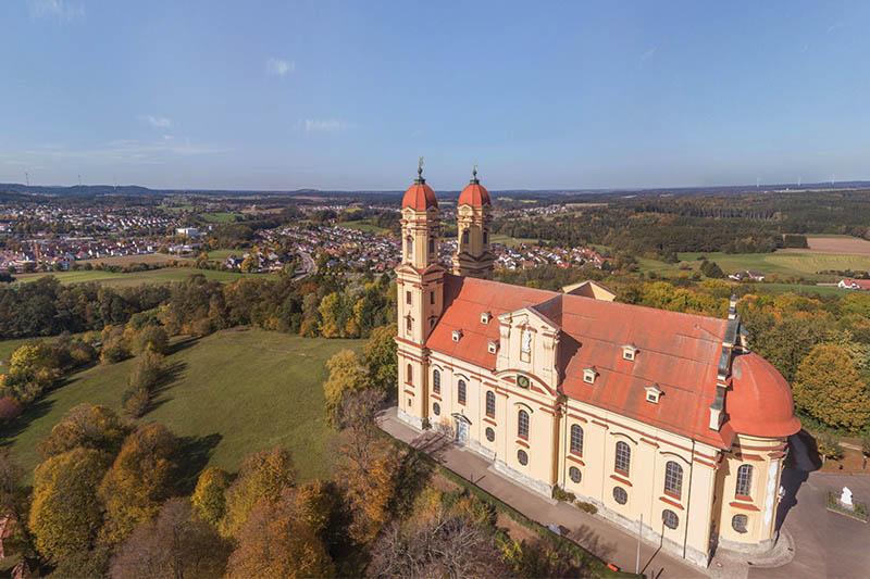 360 Grad Panoramafotografie aus der Luft