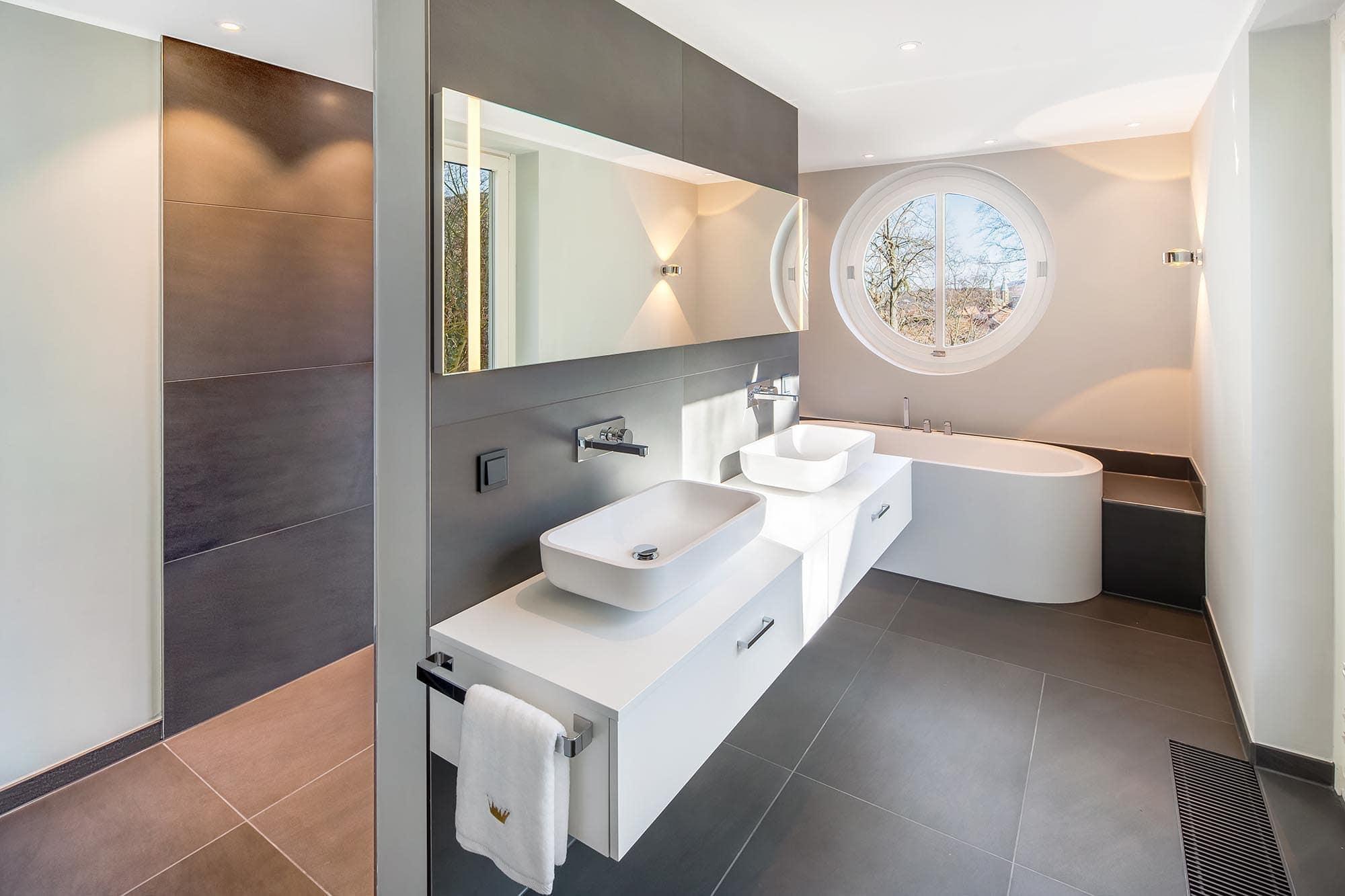 interieur fotografie eines designer bades im hdr verfahren
