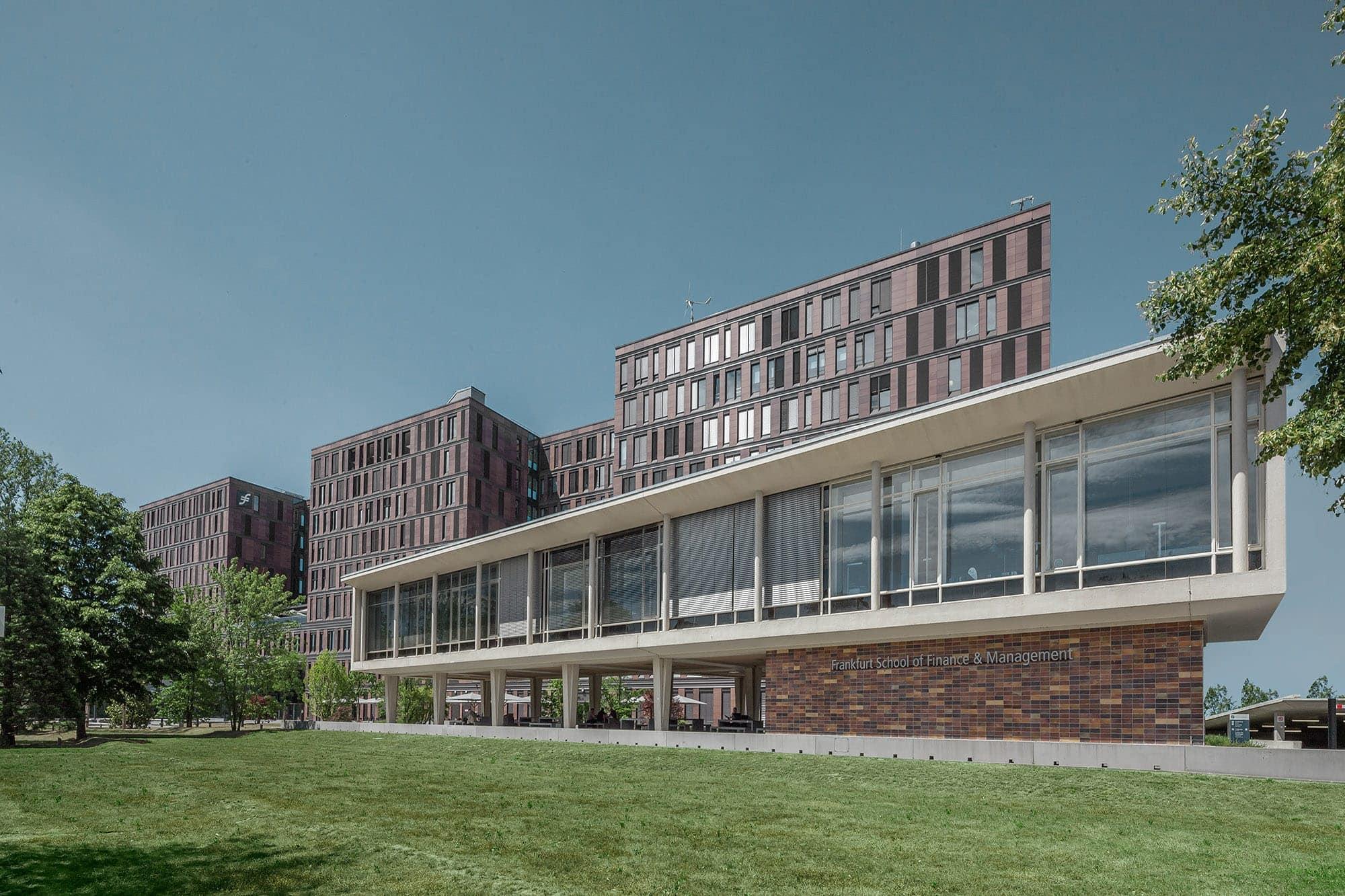 architekturfotografie der frankfurt school of finance