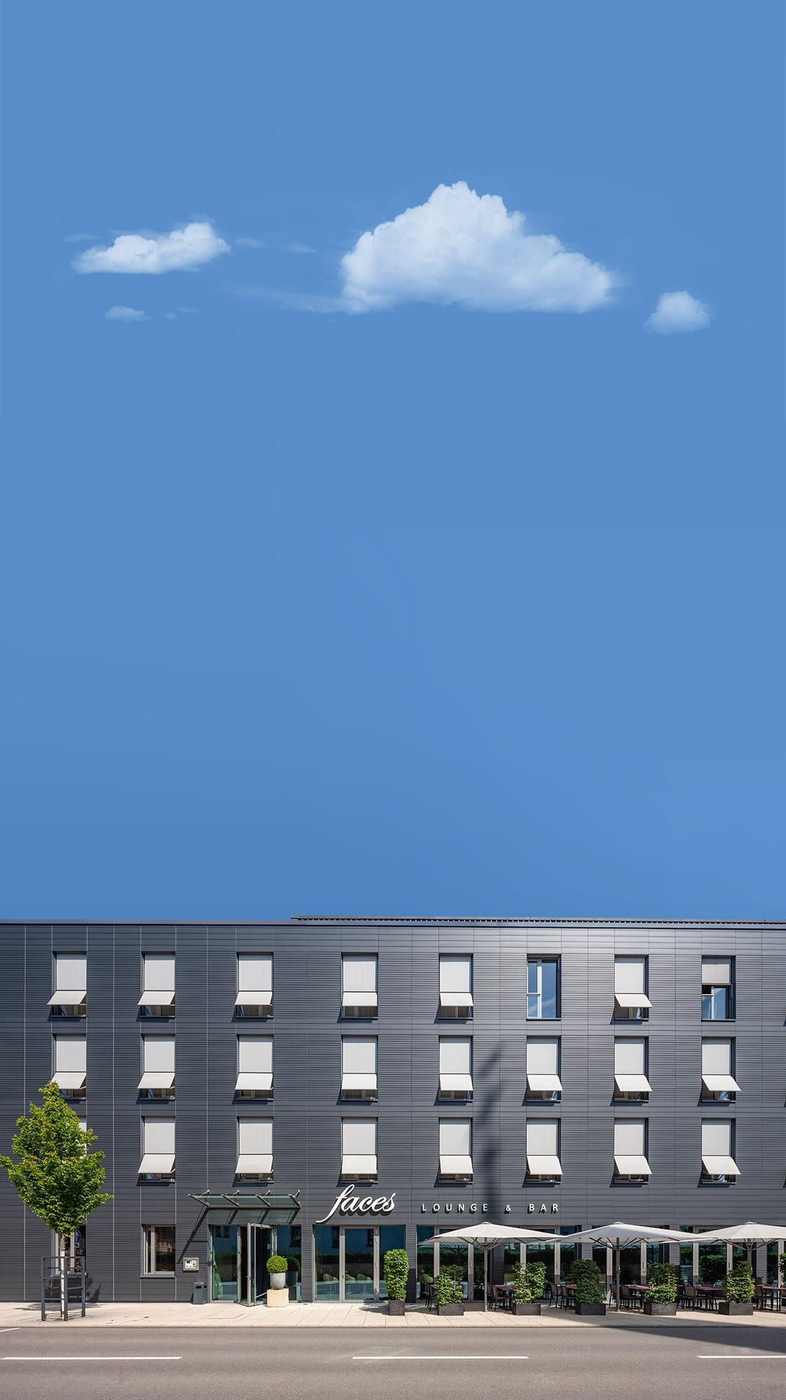 architekturfotografie eines hotels in stockach