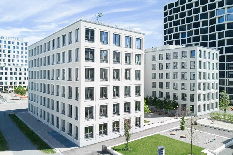 architekturfotografie bundesweit - hier ein Foto eines Gebäudes in München.
